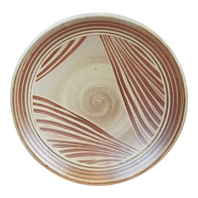 Dave Butterfield Studio Pottery Platter For Sale