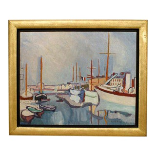 """Reproduction of """"Le Port Du Havre"""" Painting For Sale"""