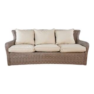 Kingsley-Bate Wicker Sofa For Sale