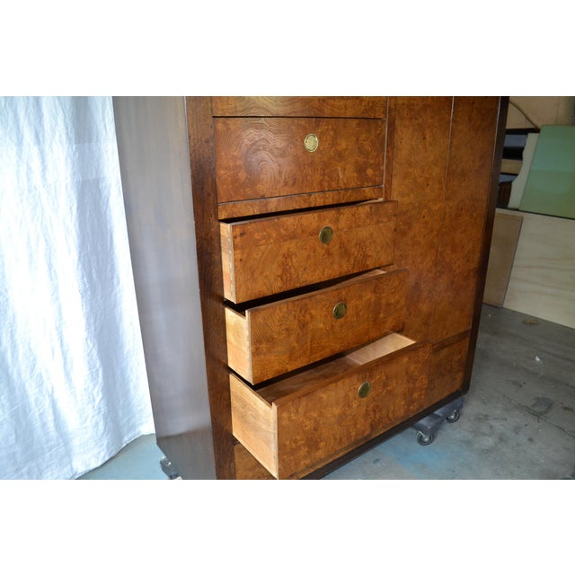 1970s Chinoiserie Century Furniture Olivewood Dresser For Sale - Image 10 of 12