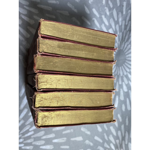 Late 19th Century 1898 Browning Book Collection - Set of 6 For Sale - Image 5 of 12
