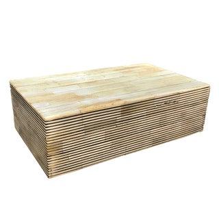 Erdos + Ko Home Black & White Stripe Box
