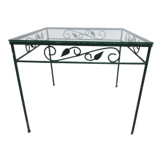 Vintage Outdoor Patio Table For Sale