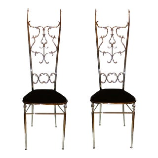 Vintage Schiolari Chiavari Chairs - a Pair For Sale