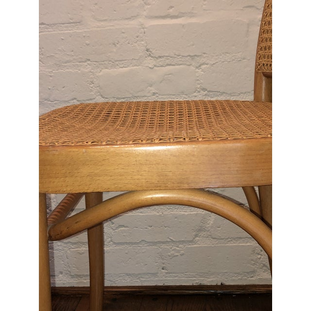 Wood Josef Hoffmann Thonet Prague Side Chairs- a Set of Four For Sale - Image 7 of 11