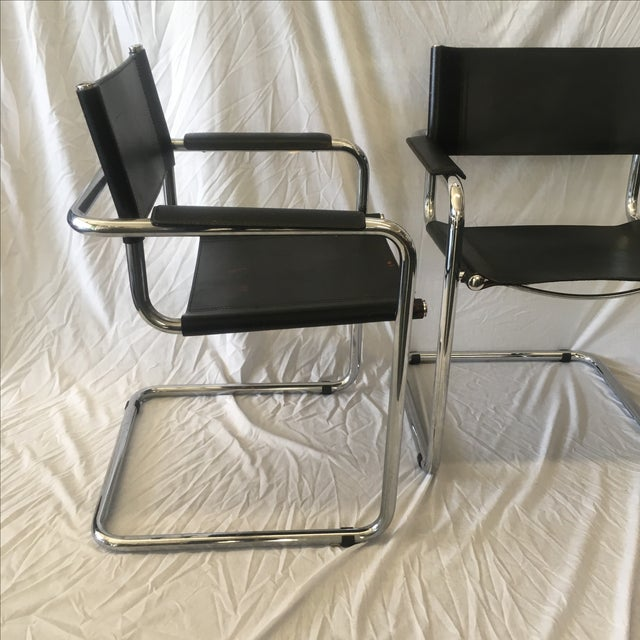 Cantilever Chairs by Marcel Breuer - Pair - Image 6 of 10