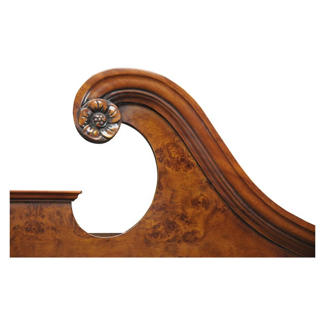 Traditional Traditional Burled Secretary Desk For Sale - Image 3 of 5