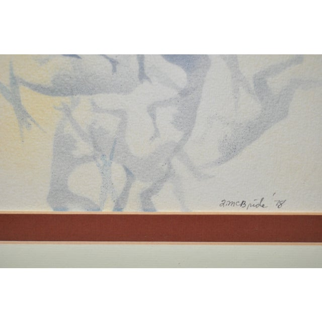 Mid-Century Modern Airbrush Painting by McBride For Sale - Image 10 of 11