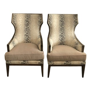 Set of 2 Chaddock Zelda Chair For Sale