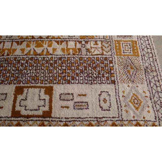 1950s Moroccan Style Portuguese Rug- 8′ × 10′ For Sale - Image 10 of 10