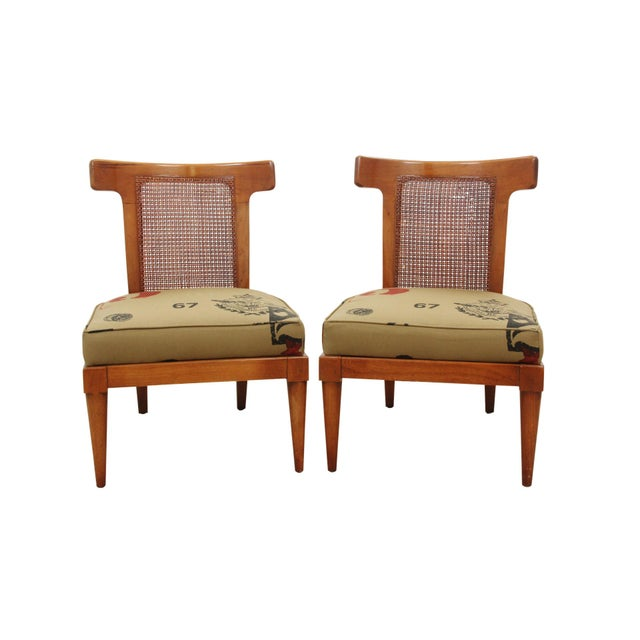 American of Martinsville Campaign Chairs - a Pair - Image 8 of 8