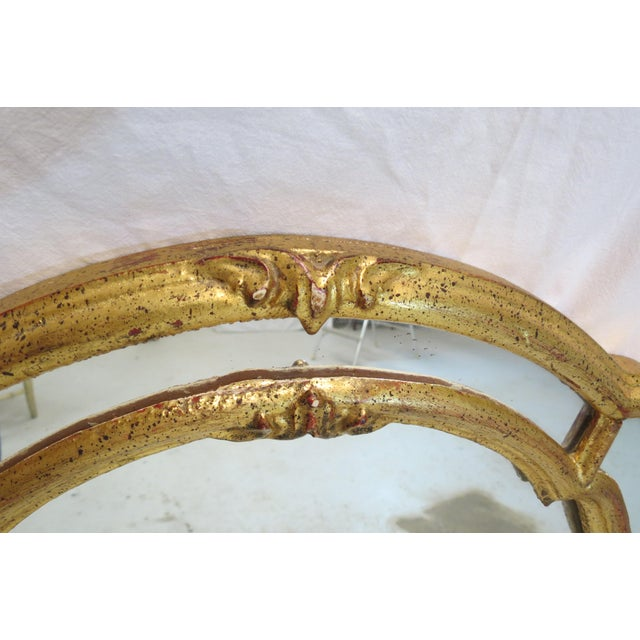 Italian Gilt Wood Wall Mirror - Image 4 of 5