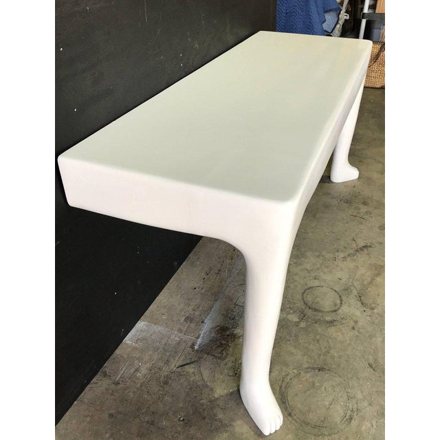 White John Dickinson Style African Console For Sale - Image 8 of 9