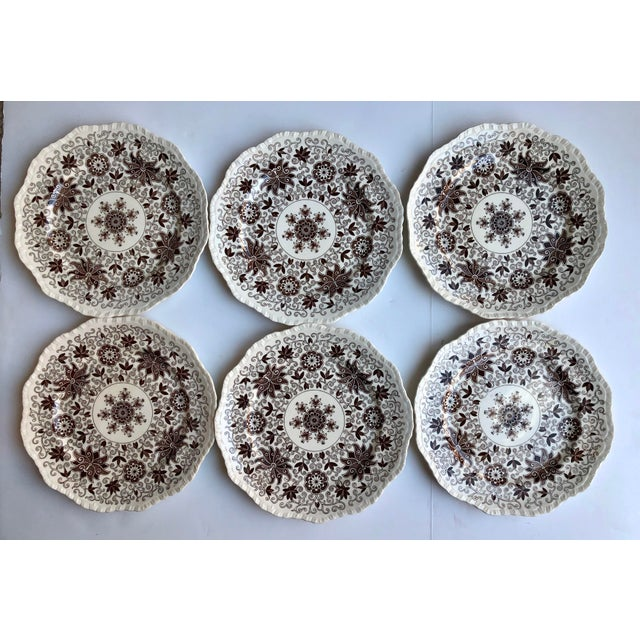 1950s Mason's Bow Bells Dinner Plates - Set of 12 For Sale - Image 5 of 6