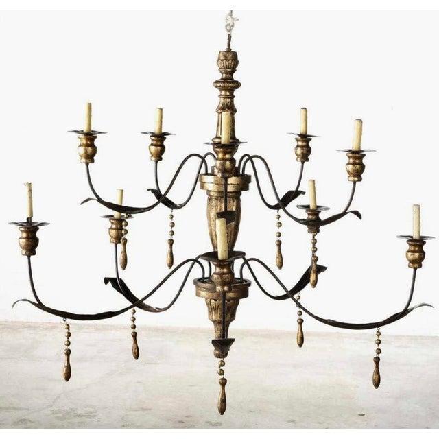 Niermann Weeks Italian Baroque Style 12 Light Chandelier