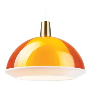 Yki Nummi Orange 'Kuplat' Pendant for Innolux Oy, Finland For Sale