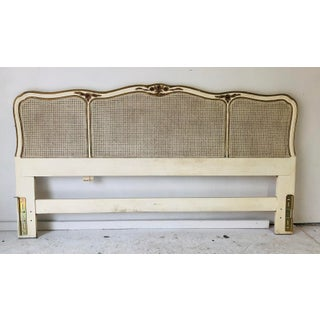 Vintage Henredon French Provincial Headboard King Size Excellent Preview