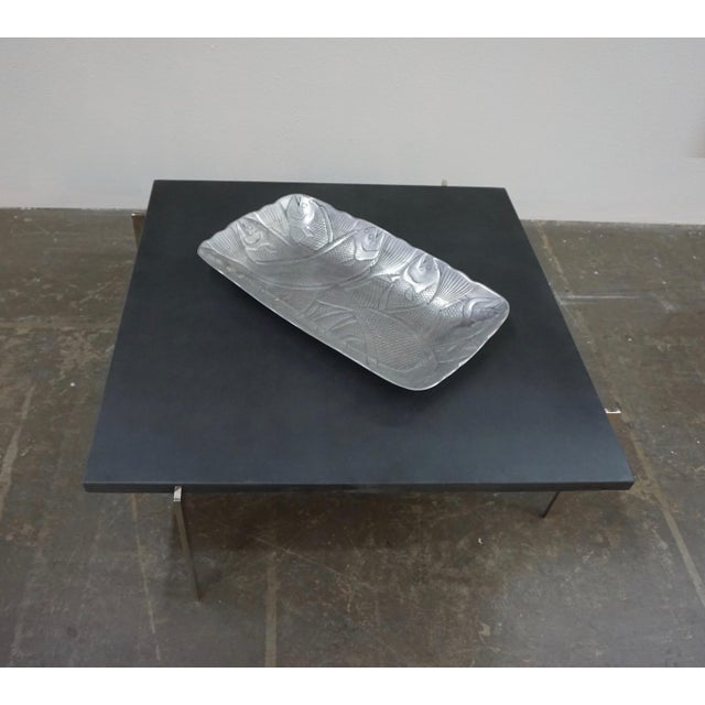 1950s 1950s Mid-Century Modern Poul Kjaerholm Coffee Table With Slate Top For Sale - Image 5 of 7