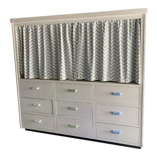 Vintage Store Display Cabinet For Sale