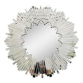 Art Deco Sunburst Mirror For Sale