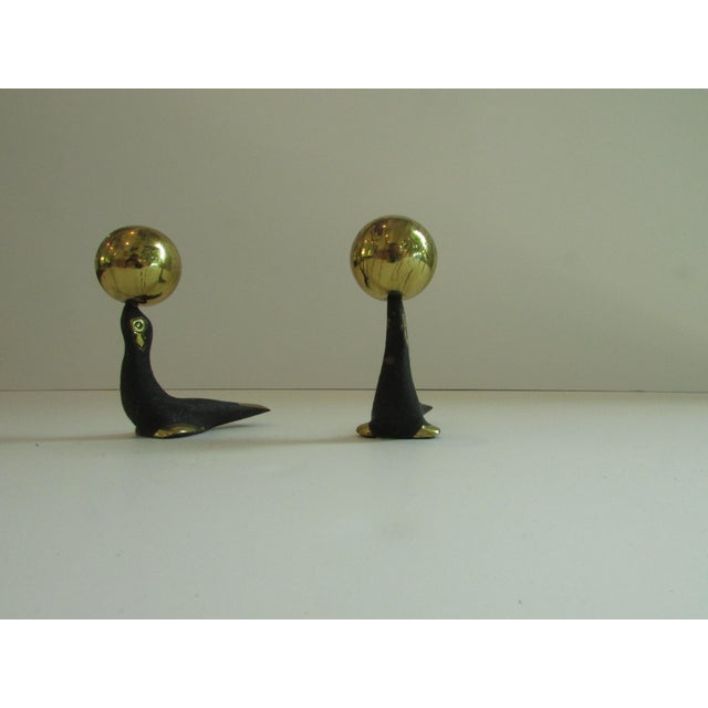Vintage Walter Bosse Seals Salt & Pepper Shakers - A Pair For Sale In Los Angeles - Image 6 of 6
