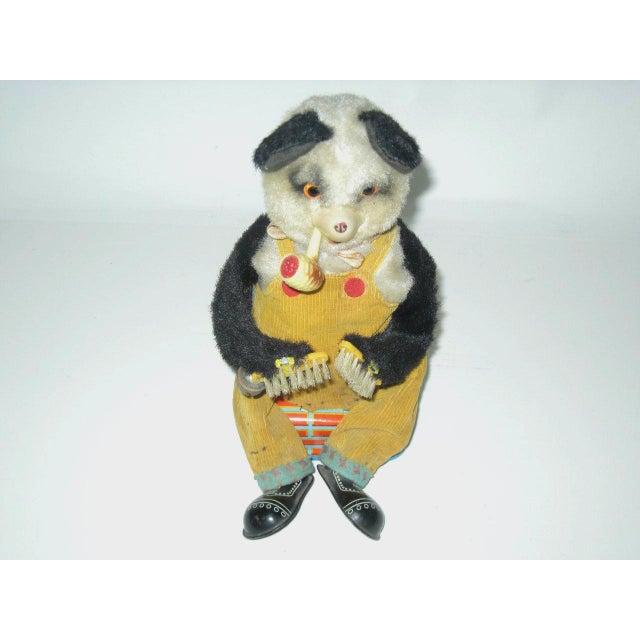 Smoking Panda Toy C.1950s For Sale - Image 6 of 6