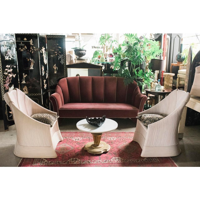 Rattan Scultura Armchairs or Dining Chairs by Betty Cobonpue - a Pair - Image 8 of 11