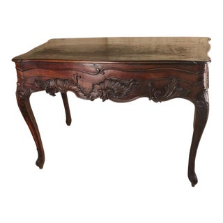 18th Century Traditional Portugese Console Table For Sale