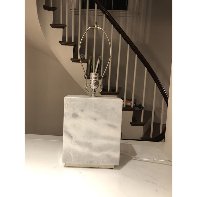 Contemporary Ralph Lauren Granite Lamps - a Pair For Sale - Image 3 of 8