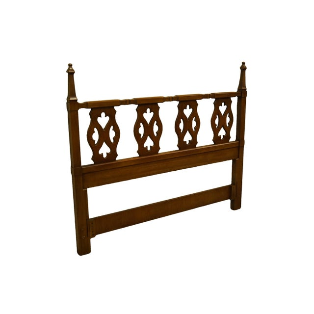Drexel Furniture Esparanto collection Spanish mediterranean queen size headboard. We specialize in high end used furniture...