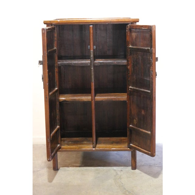 Up for sale is a Nanmu wood cabinet from Shanxi Province, China, circa 1900
