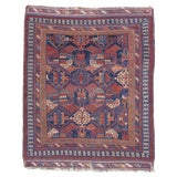 Image of Persian Afshar Rug - 4′11″ × 5′1″ For Sale