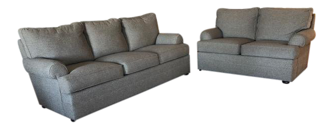 Thomasville Loveseat And Couch Chairish