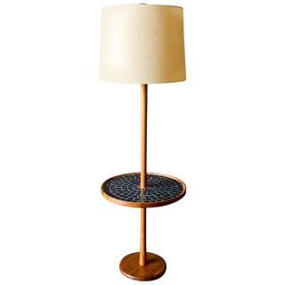 1960s Gordon and Jane Martz Ceramic Tile Table Lamp, Circa 1965 For Sale