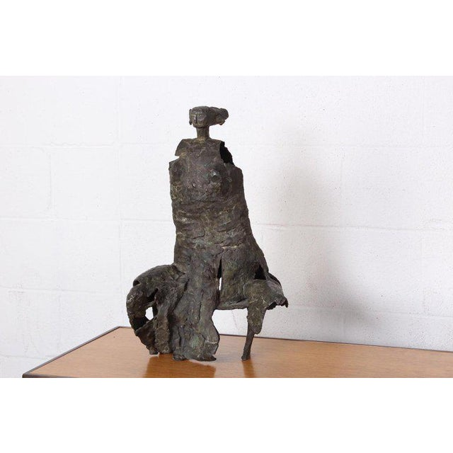Bronze Sculpture by George Mallett, 1967 For Sale - Image 13 of 13