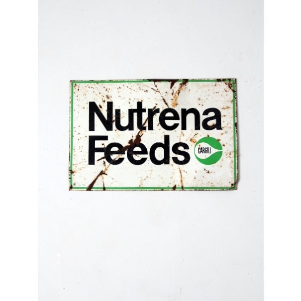 Vintage Nutrena Feeds Metal Sign - Image 2 of 5