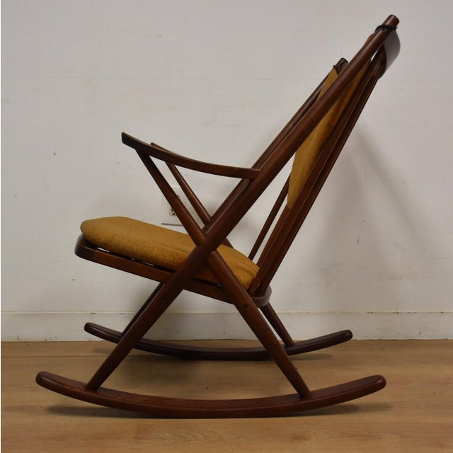 Bramin Danish Rocking Chair For Sale - Image 4 of 11