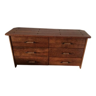 Pacific Green 6 Drawer Universal Dresser