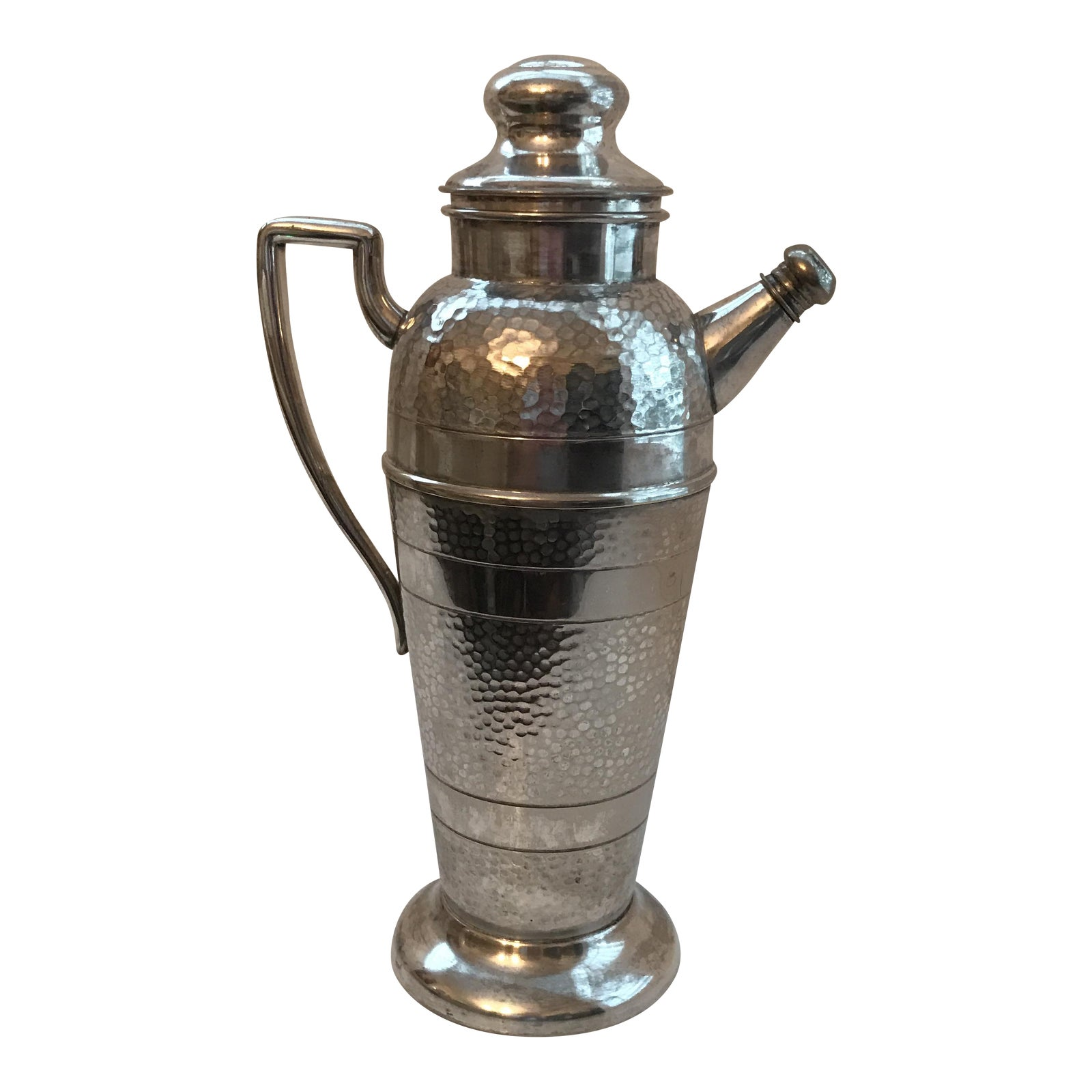 Forbes Silver Co. Art Deco Martini Shaker | Chairish