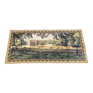 Flanders Tapestry Princess Castly Textile Art For Sale