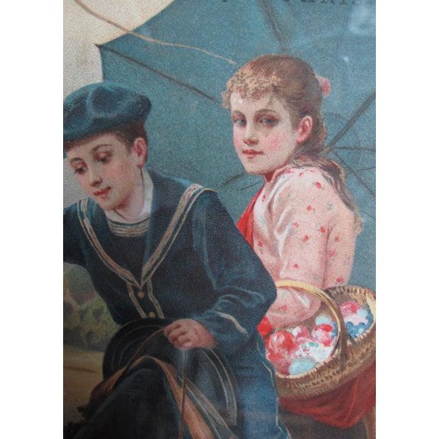 French 1892 Original French Advertisement, Vin Charbonnel For Sale - Image 3 of 3