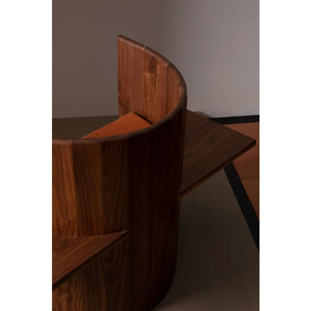 Campagna Campagna (| Sit Chair in Walnut For Sale - Image 4 of 5