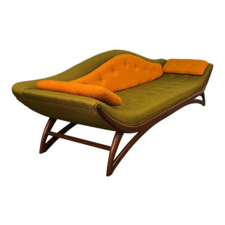 Carsons Mid-Century Modern Gondola Sofa Style of Adrian Pearsall ~ 100% Original For Sale