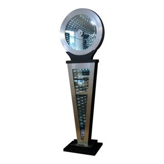 """Endless Time"" Grandfather Infinity Art Clock by Douglas Durkee"