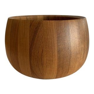 Vintage Mid-Century Modern Teak Bowl by Georges Briard For Sale
