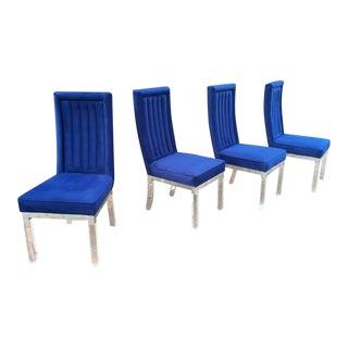 Set of 4 Charles Hollis Jones Dining Chairs