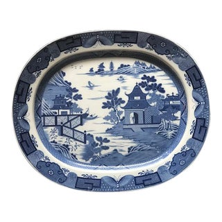 19 Century Vintage English Platter For Sale