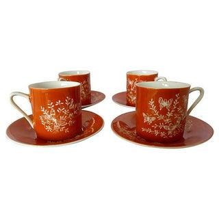 Mid-Century Asian Tea Set - Set of 4 For Sale