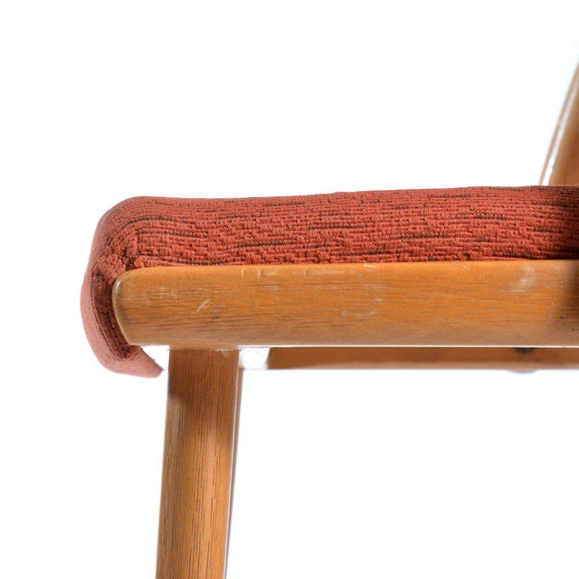 Mid-Century Upholstered Chair by Antonin Suman for Ton, 1965 For Sale - Image 4 of 5