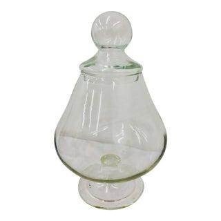 Vintage Brandy Sniffer Shaped Glass Jar For Sale